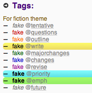 Fiction Theme Tags