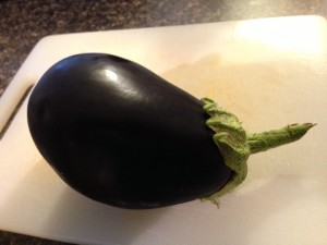 The first eggplant of 2013
